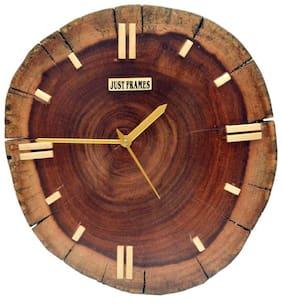 Just Frames Brown Wall clock