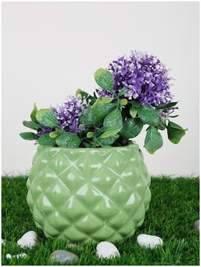 Just Originals Pineapple Bowl Shape Ceramic Flower Pot