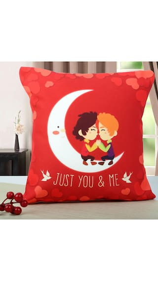 Ferns N Petals Just You And Me Cushion