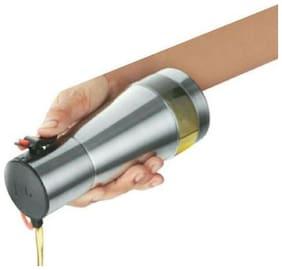 JVL OLF350 Kitchen Stainless Steel Oil Stoppers Pourers Dispenser - 350 ml