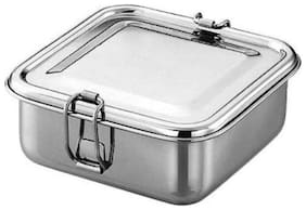 JVL 1 Containers Stainless steel Lunch Box - Silver