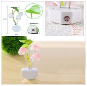 k dudesSensor Operated On Off Color Changeable Led Avtar Mushroom Night Lamp Night Lamp  (12 cm, Multicolor)