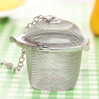 k kudos enterprise Perfect Tea Strainer, Tea Filter, Tea Maker, Tea Ball, Stainless Steel ( pack of 1 )