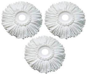 K Kudos Replacement Micro Mop Head Refill For Standard Universal Spin Mop 3pcs