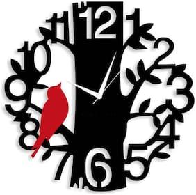 KABIR ART Black Wall clock