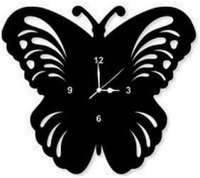 KABIR ART Black Wall clock