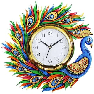 KABIR ART White Wall clock