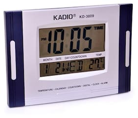 kadio Blue Wall Clock