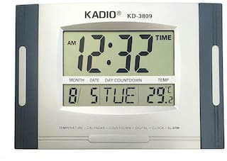 Kadio White Wall clock