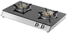 Kaff KC602BSBSS 2 Burner Automatic Hobs Black Gas Stove , ISI Certified