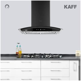 Kaff Wall Mounted Auto Clean 60 cm 1150 m3/h Black Chimney