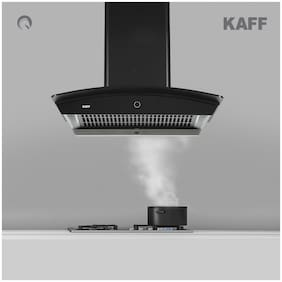 Kaff Wall Mounted Auto Clean 60 cm 1180 m3/h Black Chimney ( ROVER DHC 60 )
