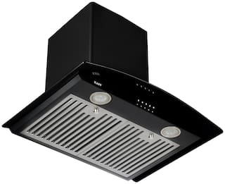 Kaff Wall Mounted 60 cm 1150 m3/h Black Chimney