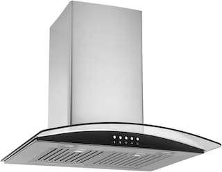Kaff Wall Mounted 60 cm 1080 m3/h Grey Chimney ( FIM BF 60 )
