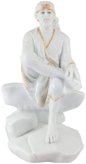 Kanhaclues Marble Sai Baba