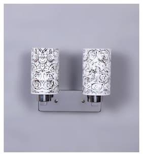 Kapoor E Illuminations Metallic Silver & Glass
