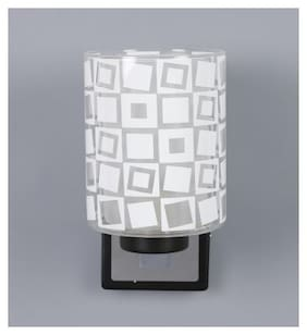 Kapoor E Illuminations Metal & Glass Wall Light