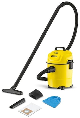 KARCHER WD 1 Wet & dry cleaner ( Yellow & black )