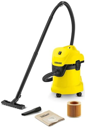 KARCHER WD 3 Wet & Dry Multi-purpose Vacuum Cleaner (Yellow & Black)
