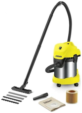 KARCHER WD3 PREMIUM Dry Vacuum Cleaner ( Yellow & Silver )