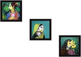 Kartik Printed Paintings ( Set of 3 )