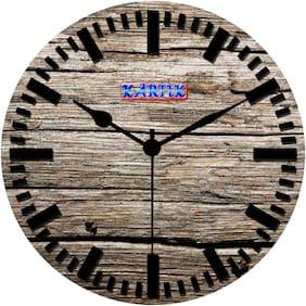 Kartik Wood Analog Wall clock ( Set of 1 )