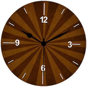 Kartik Wood Analog Wall clock ( Set of 1 )