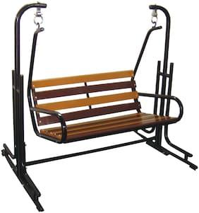 kaushalendra Swing Hammock Chair with Stand Swings;(5025;Black)