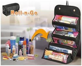 Kawachi Roll-N-Go Jewellery And Cosmetics Organiser And Storage Travel Bag
