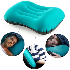Kawachi Ultralight Camping Travel Inflatable Pillow, Neck Protective, Portable Compact Comfortable for Hiking, Backpacking, Picnic, Outdoor Sports - K498