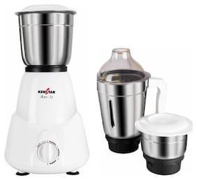 Kenstar DX AXE-3S 450 W Juicer Mixer Grinder ( White , 3 Jars )