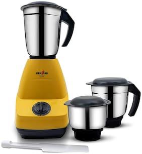 Kenstar KMSPI50Y3S-DES 500 W Mixer Grinder ( Yellow , 3 Jars )
