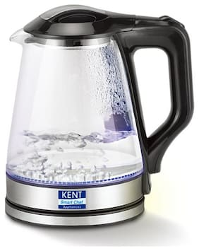 Kent 16023 Electric Kettle Glass (Grey)