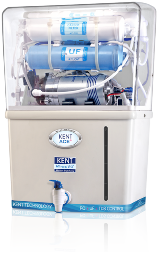 Kent Ace Plus 7 L RO+UF Water Purifier (White)