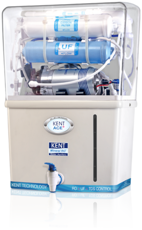 Kent Ace Plus 7 ltr RO+UF Water Purifier (White)