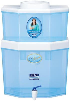 Kent Gold Star 8 ltr Gravity based UF Technology Water Purifier (Blue)