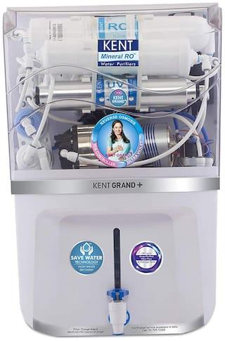 Kent GRAND PLUS NEW MINERAL 11075 9 L Water Purifier - Ro+uv+uf+tds
