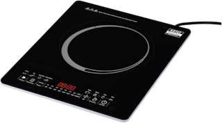 Kent KT-04 2000 W Induction Cooktop ( Black , Touch Panel Control)