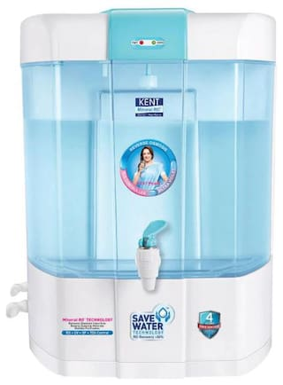 Kent Pearl 8 L RO+UV+UF Water Purifier (White & Blue)