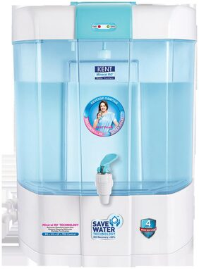 Kent Pearl 8 ltr RO+UV+UF Water Purifier (White & Blue)