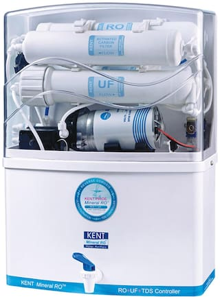 Kent Pride 8 L RO + UF With TDS Controller Electric Water Purifier