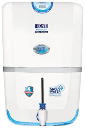 Kent Prime 9 ltr RO+UV+UF Water Purifier (White)