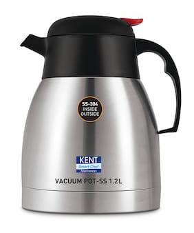 Kent Stainless Steel Vacuum Tea And Coffee Pot