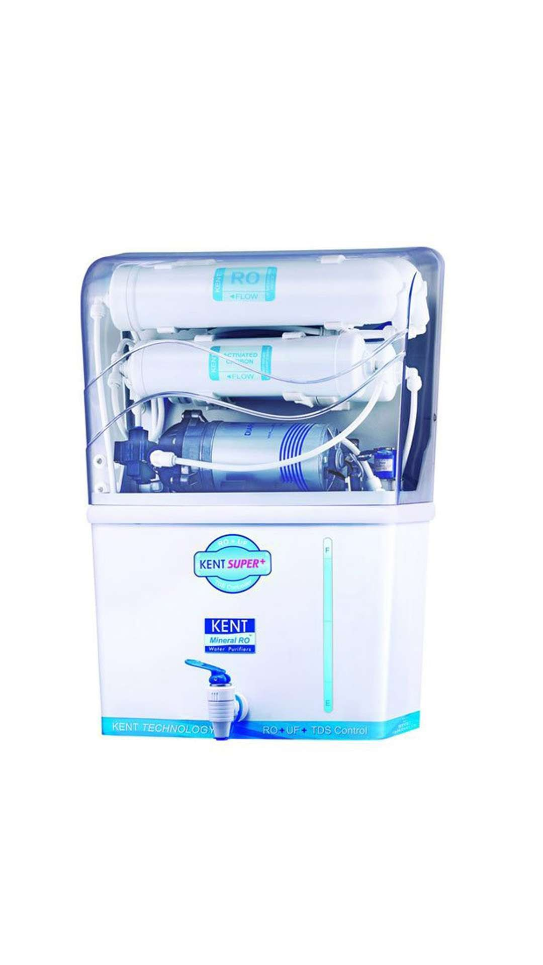 Kent Super+ 8 L RO + UF With TDS Controller Electric Water Purifier