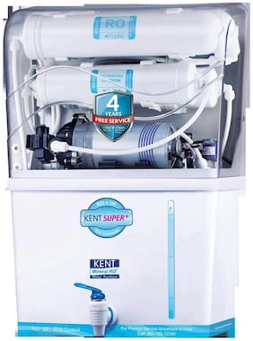 Kent Super Plus 8 L RO+UF Water Purifier (White)