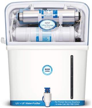 Kent Ultra Storage  7 ltr UV+UF Water Purifier (White)