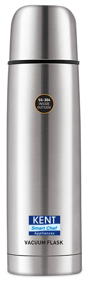 Kent Silver Thermosteel flask ( 1000 ml , Set of 1 )