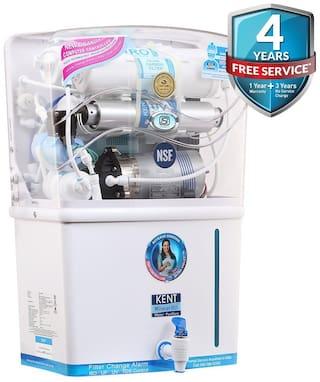 Kent Water Purifier Grand Plus 8 L Mineral RO + UV + UF + TDS