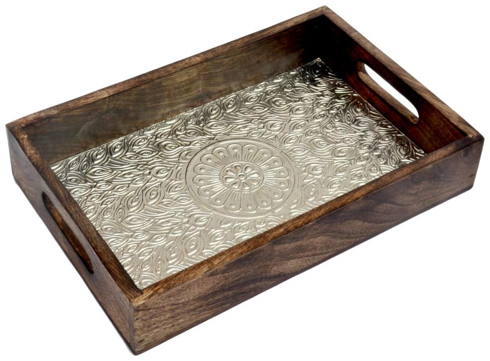 Kesha Spree Wooden Tray For Serving Tea |Coffee Tray Wooden |Bed Tray...