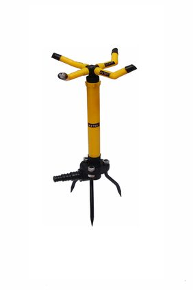 Ketsy 736 Water Sprinkler Adjustable Four Arm with Iron Base
